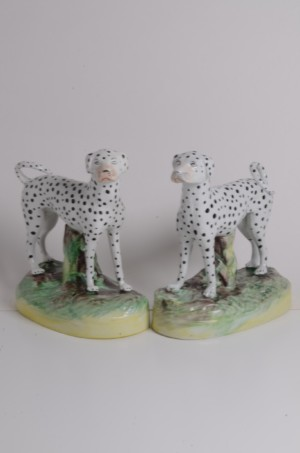 RTS Staffordshire Pottery Figures | Collectable Staffordshire Figures | Dalmations
