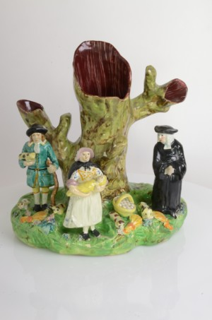RTS Antiques | Rare Staffordshire Pottery Figures | Pottery Figures
